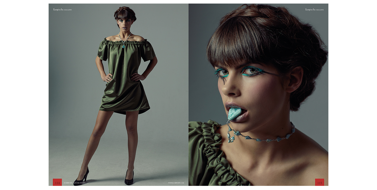 Editorial Fotoshooting, Hair and Makeup by Manja Mietho